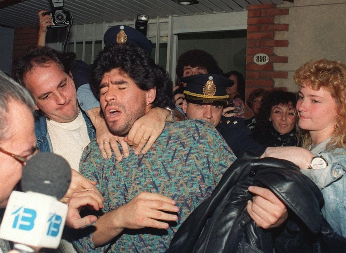 Maradona, le immagini del film