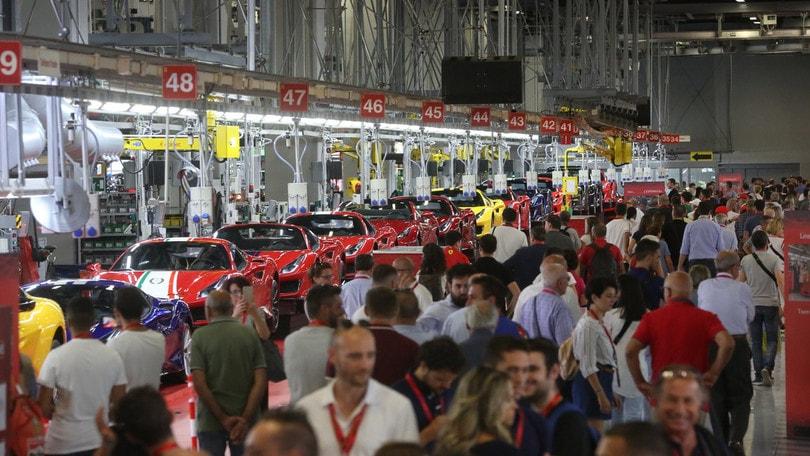 Ferrari Family Day: grande successo per la giornata dei dipendenti