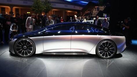 Mercedes Vision EQS: LE IMMAGINI