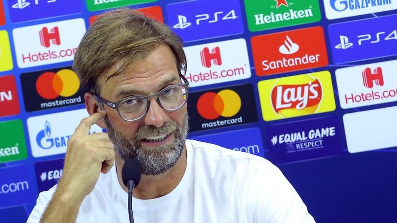 """Champions, Klopp su Napoli-Liverpool: """"Temo l'effetto San Paolo"""""""