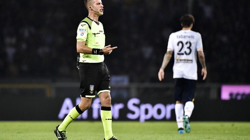 Serie A, le designazioni: Udinese-Roma a Irrati, per Lazio-Torino c'è Orsato