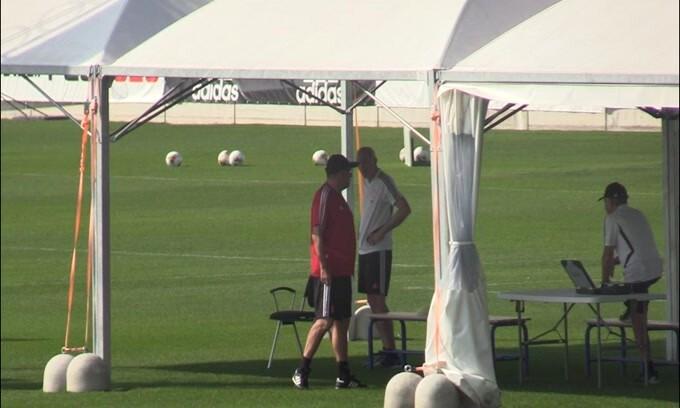 Juventus: squadra al lavoro alla Continassa