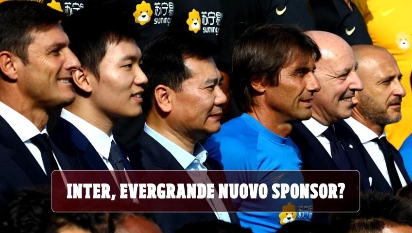 Inter, Evergrande nuovo sponsor?