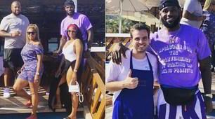 LeBron James, vacanza a Capri: selfie con i fan
