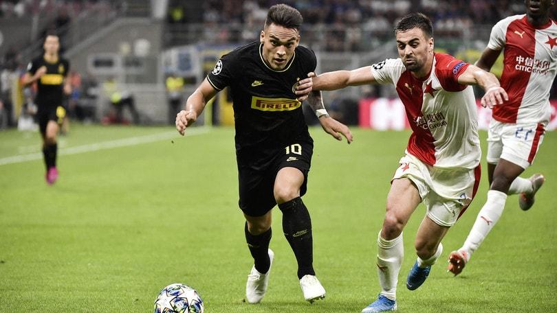 Inter-Slavia Praga 1-1, il tabellino