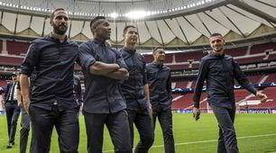 La Juve si prepara all'Atletico: bianconerisul manto del Wanda Metropolitano