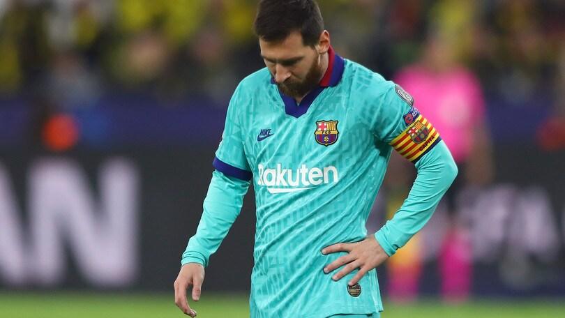 Champions: pari Barcellona, ko Chelsea. Salisburgo a valanga