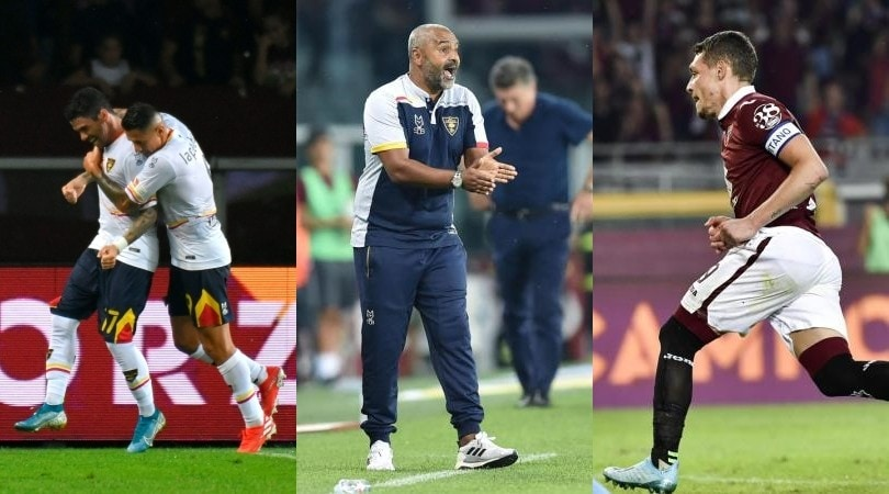 Lecce, che impresa: Torino battuto 2-1 in trasferta