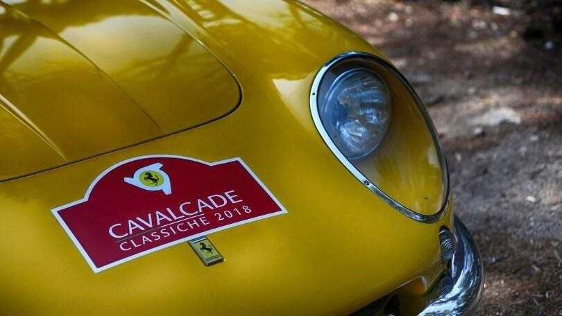 Ferrari, a Roma arriva la Cavalcade Classiche