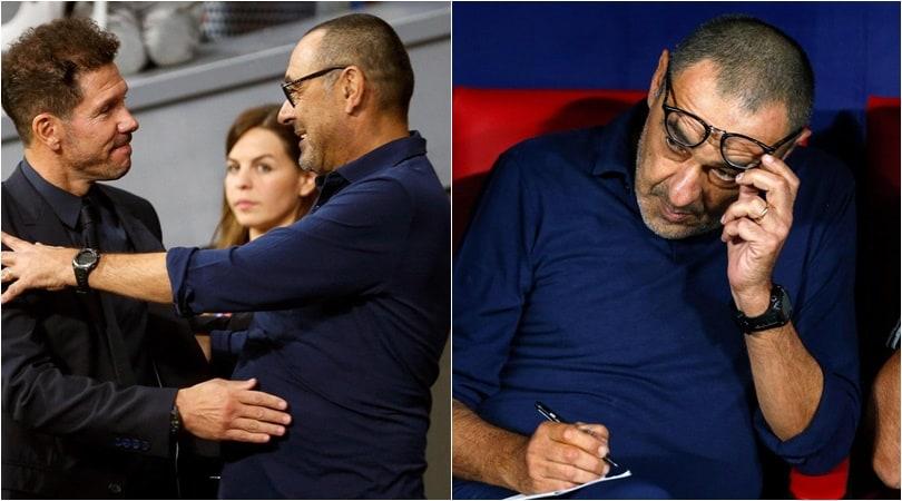Sarri, esordio in Champions sulla panchina della Juve