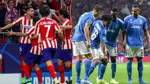 La Juve si fa rimontare, finisce 2-2 contro l'Atletico