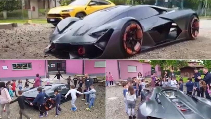 Lamborghini, Urus e Terzo Millennio tornano... a scuola