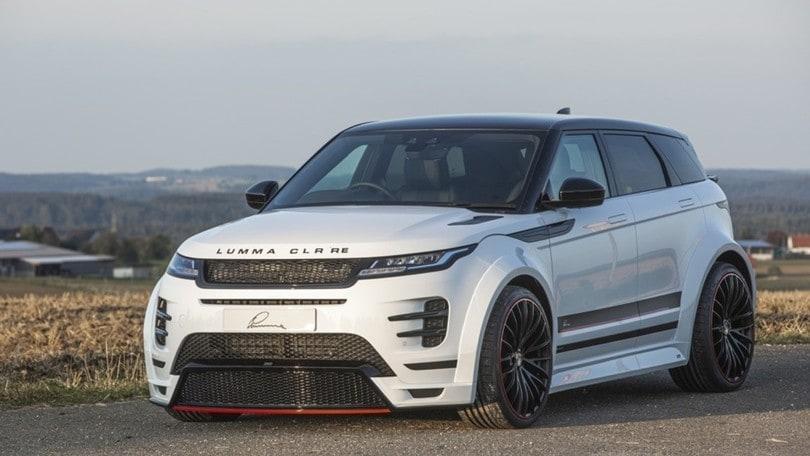 Range Rover Evoque diventa CLR RE con il tuning Lumma