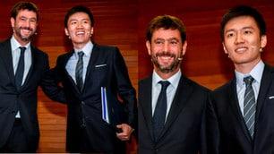 Incontro Agnelli-Zhang, sorrisi e abbracci alla Bocconi