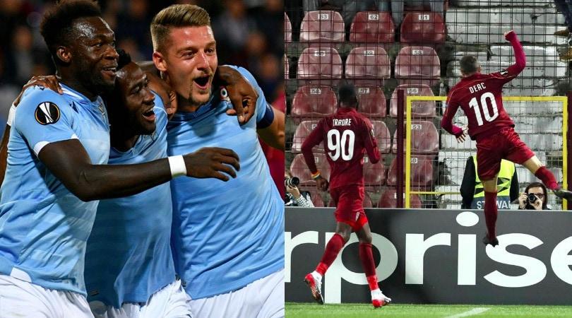 Lazio ko, sblocca Bastos ma il Cluj vince 2-1