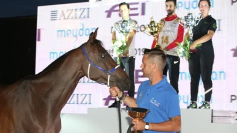 Endurance: altro oro EAU