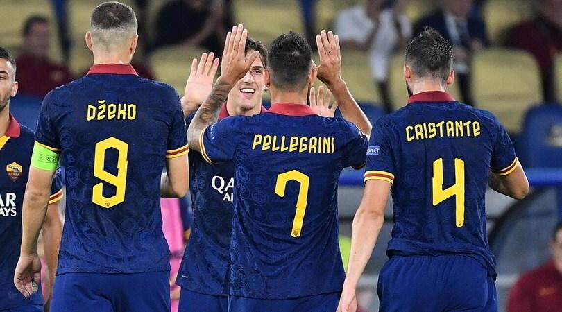 Roma-Basaksehir 4-0: super Zaniolo e Dzeko, i giallorossi dominano