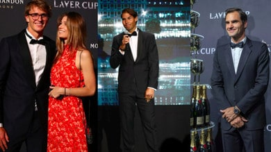 Laver Cup, ci sono tutti: da Nadal e Federer a Fognini e Zverev