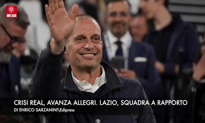 Crisi Real, avanza Allegri. Lazio, tutti a rapporto
