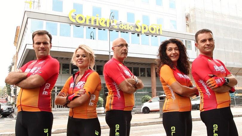 Granfondo Campagnolo: la Goodbike CdS Team si presenta