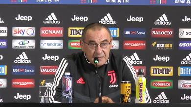 """Sarri: """"Questa Juve non giocherà mai come il mio Napoli"""""""