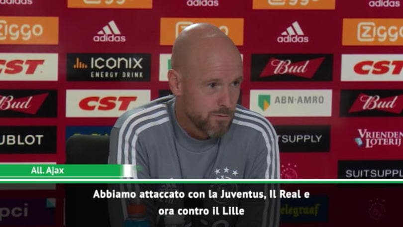 """Ten Hag avverte il PSV: """"Cattivi come con la Juve"""""""
