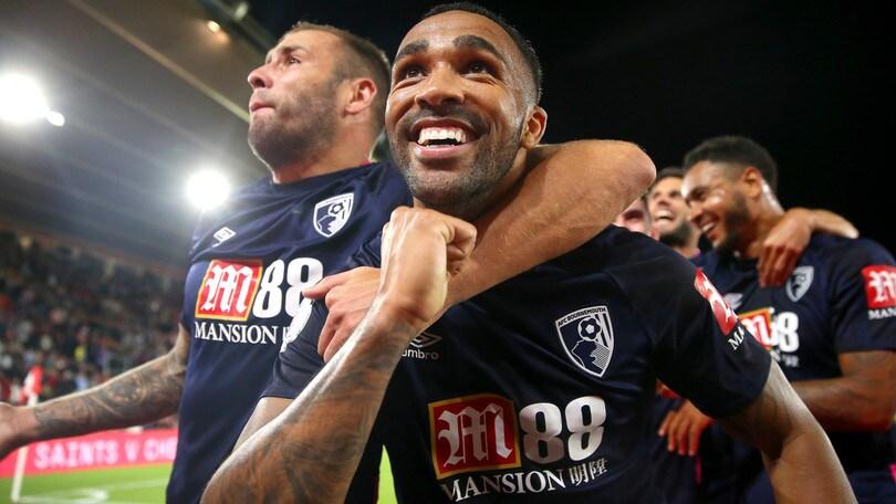 Il Bournemouth raggiunge il City: Southampton ko 3-1