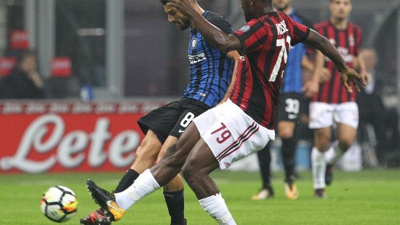 On Air: Milan-Inter, i numeri. Gp Singapore, libere: Ferrari in affanno