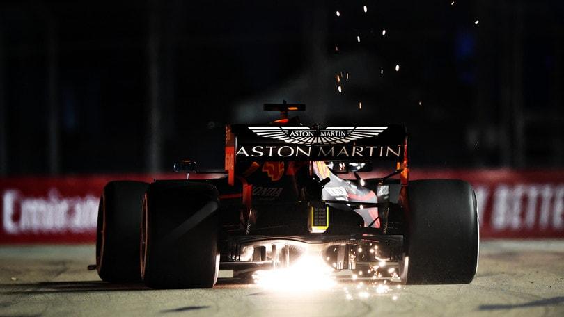 """Verstappen: """"Siamo competitivi ma Hamilton è veloce"""""""