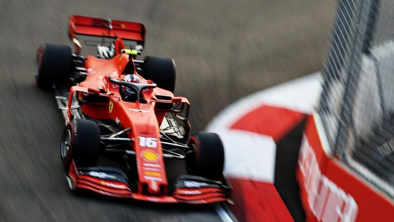 Gp Singapore: Leclerc domina le ultime libere, Hamilton secondo