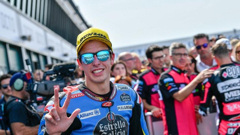 Moto2: Alex Marquez centra la pole ad Aragon, Fernandez secondo