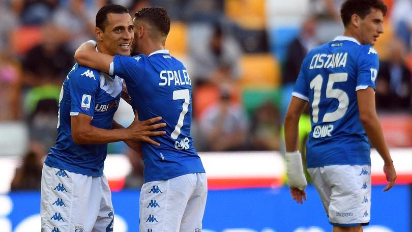 Udinese-Brescia 0-1: Romulo condanna i friulani