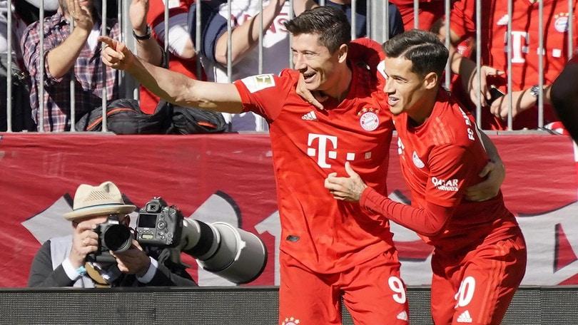Bundesliga: poker Bayern, Lipsia di nuovo in testa