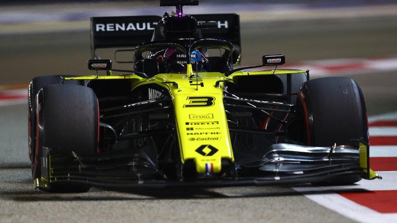 Gp Singapore: Ricciardo escluso dalle qualifiche per anomalia al MGU-K