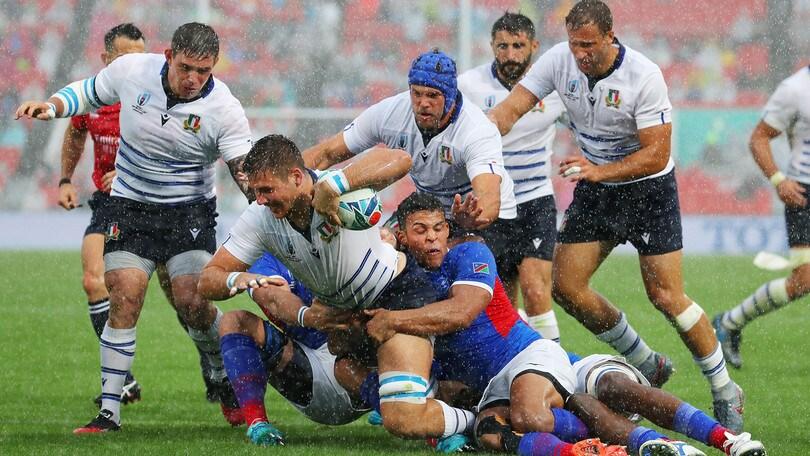 L'Italia batte la Namibia all'esordio nella Coppa del Mondo di rugby