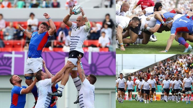 Mondiali di rugby: l'Italia fa festa, battuta la Namibia 47-22