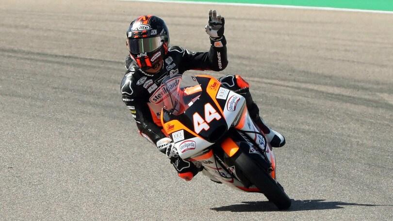 Moto3: Canet domina ad Aragon, terzo Foggia