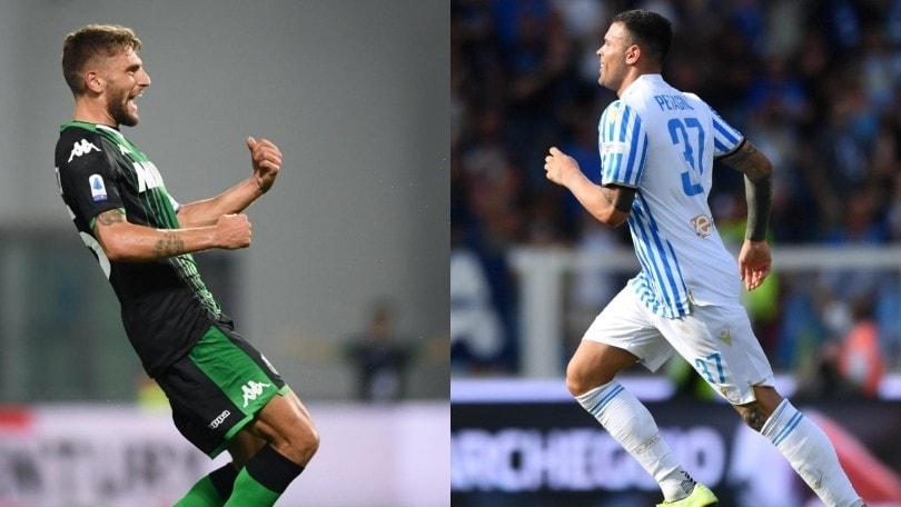 Diretta Sassuolo-Spal ore 12.30: formazioni ufficiali e come vederla in tv