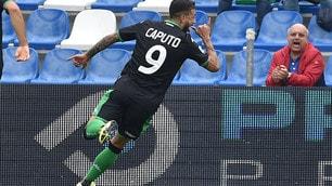 Caputo show al Mapei Stadium: Sassuolo-Spal 3-0