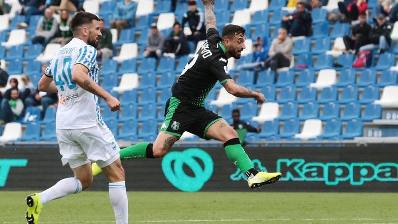 Troppo Sassuolo per la Spal: doppietta di Caputo e Duncan per il 3-0 finale
