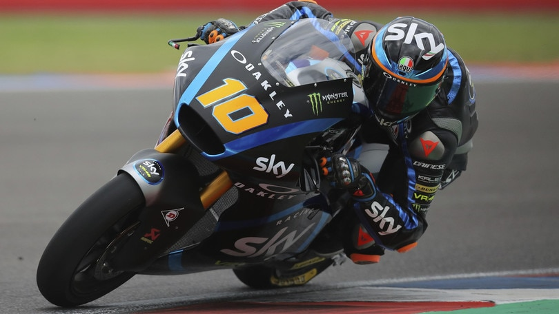 Moto2, Thailandia: trionfo di Luca Marini