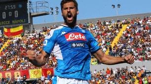 Llorente show: il basco trascina il Napoli contro il Lecce