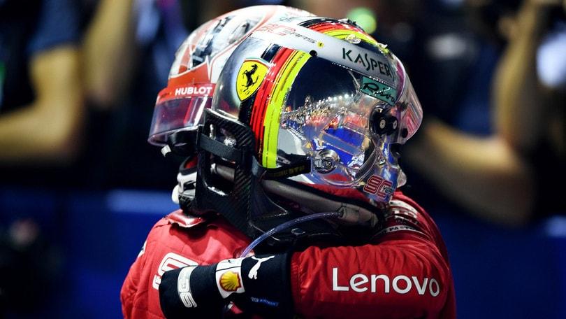 "Vettel trionfa a Singapore: ""Ora siamo vivi"""