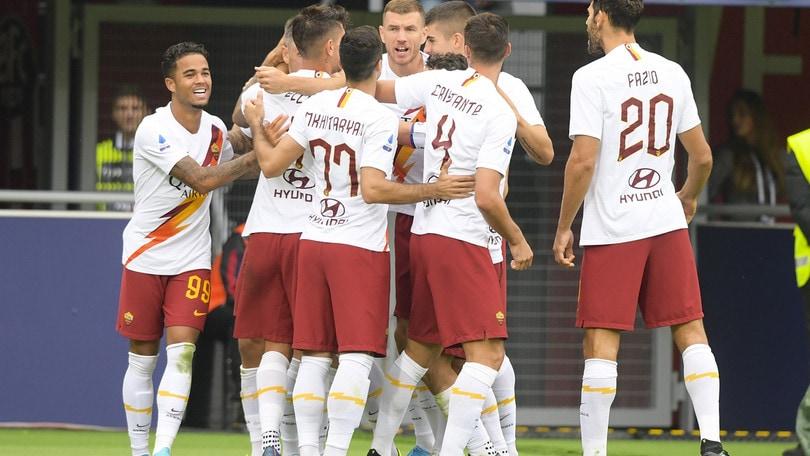 Bologna-Roma 1-2, il tabellino