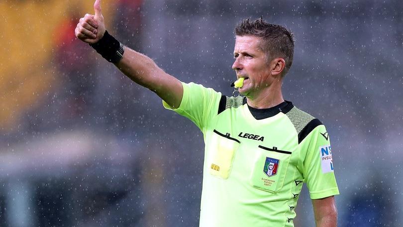 Serie A, le designazioni: Roma-Milan a Orsato, Fiorentina-Lazio, arbitra Guida
