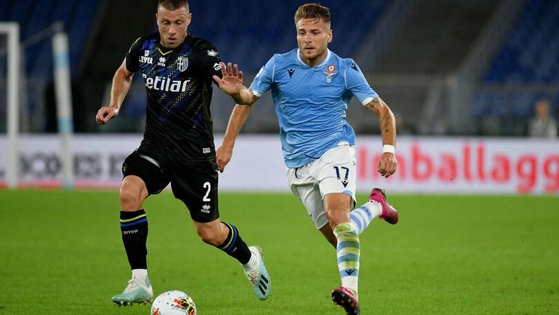 Lazio-Parma 2-0, il tabellino