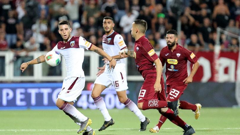 Trapani-Salernitana 0-1: decide un rigore di Kiyine nella ripresa