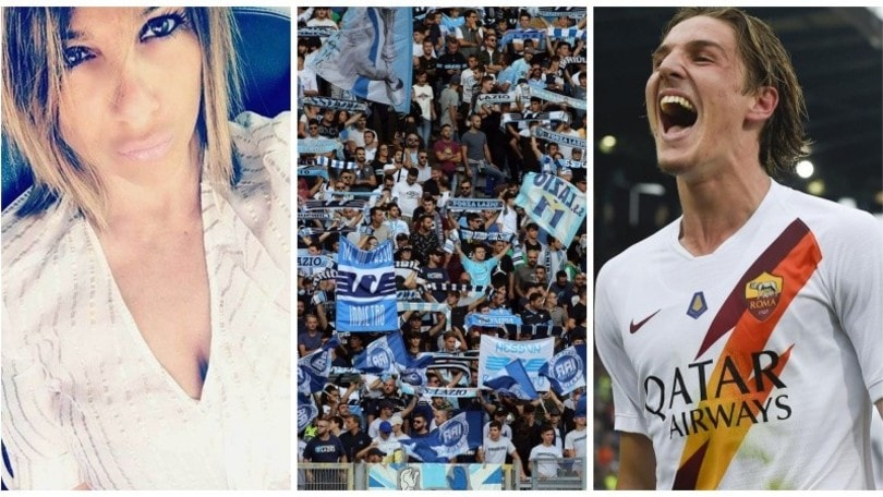 Lazio, ancora cori contro la madre di Zaniolo. E lei risponde con un video