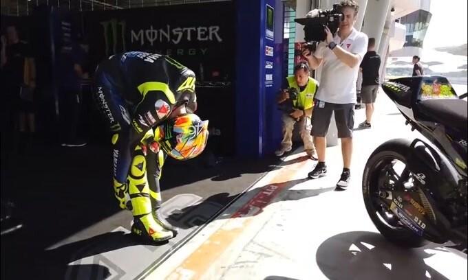 Moto GP, per Rossi la Yamaha ha avuto un problema di gomme