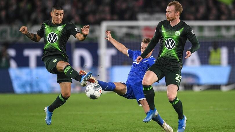 Bundesliga, pareggio 1-1 tra Wolfsburg e Hoffenheim